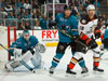 Sharks build big lead, hold on to edge Ducks