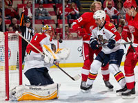 Trocheck helps Panthers defeat Red Wings