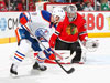 Oilers vs Blackhawks : The Way Hockey Should Be Played