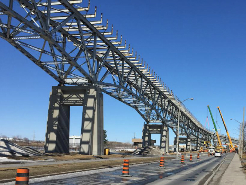 SNAPSHOT - Seaway International Bridge is coming down