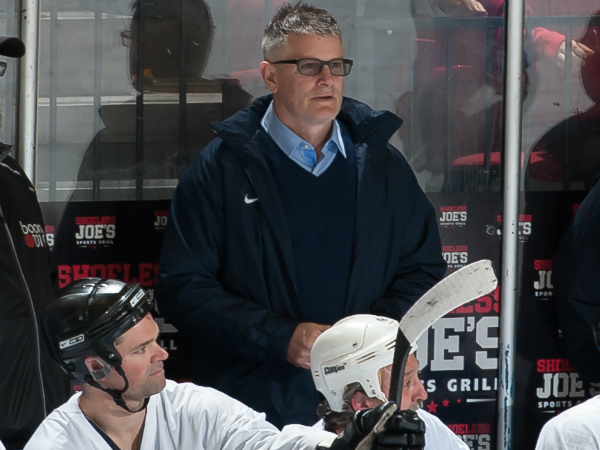 SHORT SHIFT - Marc Crawford returns behind bench of Cornwall Royals