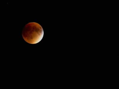 SNAPSHOT - Blood moon in Windsor