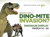 Dinosaur Exhibit coming to Devonshire Mall