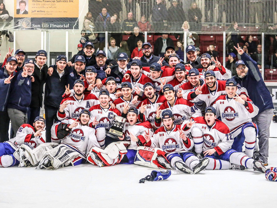 Lakeshore Canadiens announce PJHL Western Conference Finals dates