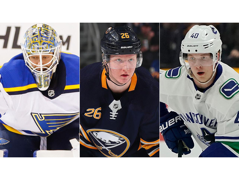 Calder Trophy finalists unveiled