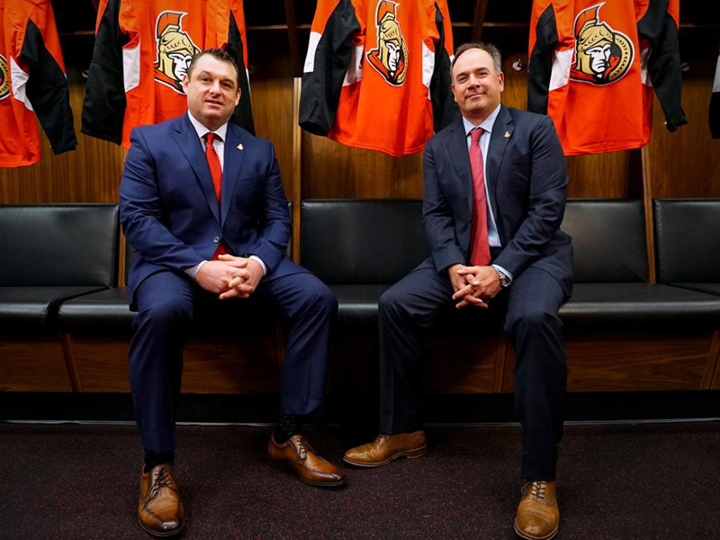 Ottawa Senators name D.J. Smith as head coach
