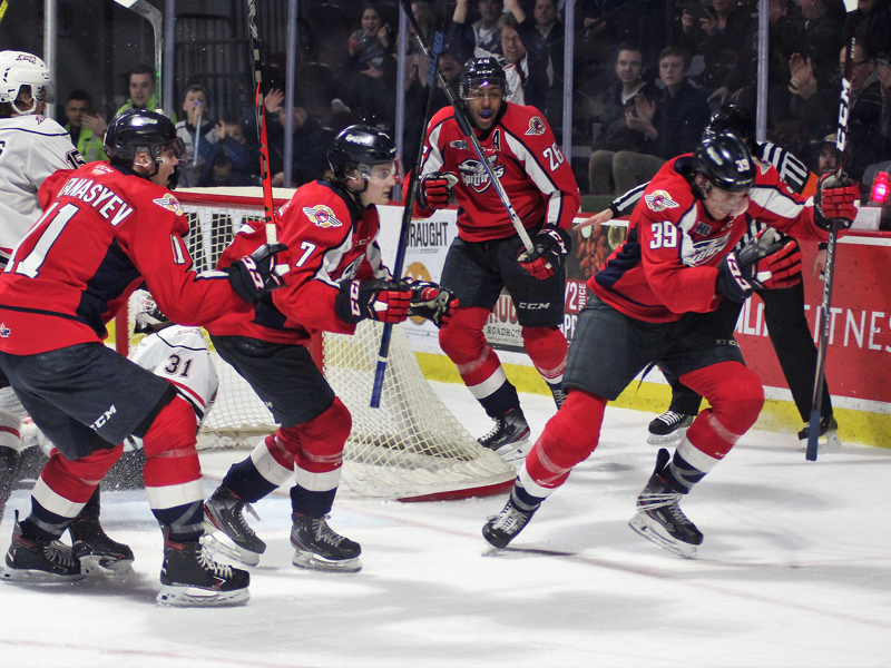 SHORT SHIFT - Attack edge Spitfires in final two seconds of OT