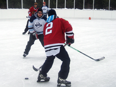Bainsville Hockey Tourney, Danaher Park - It has all come together
