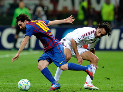 Champions League: Bayern Munich cruise to victory, AC Milan and Barcelona settle for a draw
