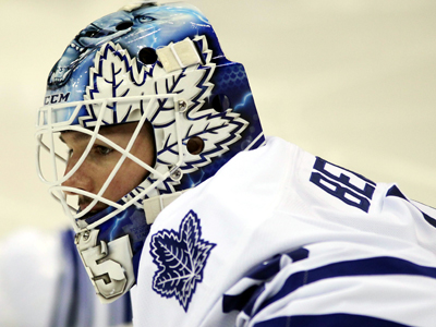Jonathan Bernier should be the Maple Leafs target