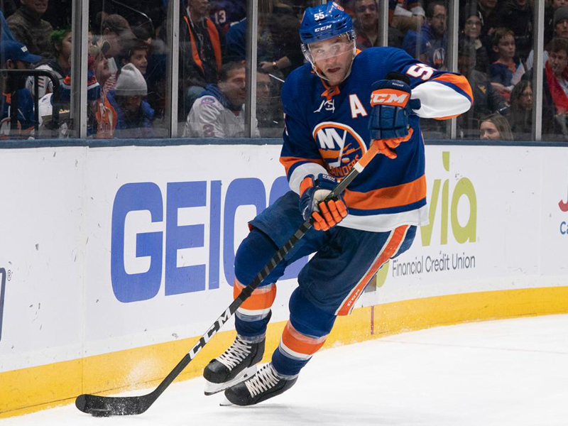 Boychuk out for Islanders after 90-stitch cut to eyelid
