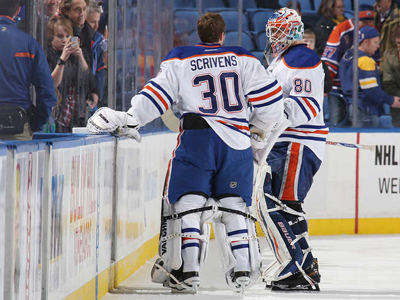 Oilers: Scrivens has been good but so has Bryzgalov