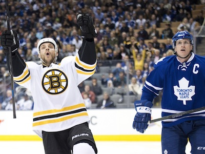 The Leafs get embarrassed on home ice against the Boston Bruins