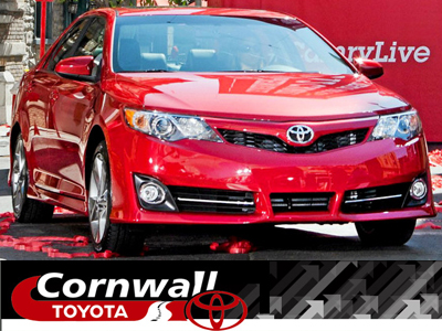 Test drive the new 2012 Camry at Cornwall Toyota