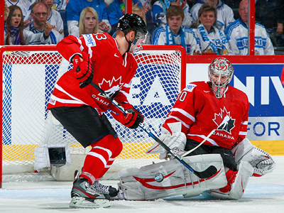 Eberle nets another and Kane scores the winner, as Team Canada comes back to edge Finland