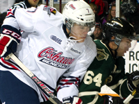 Saginaw's Paterson stands on head to lead Spirit over Oshawa Generals