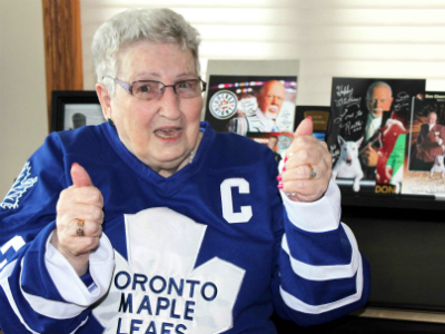 Ruth Cragg - Toronto Maple Leafs Super fan