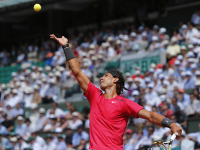 French Open: Day Three - Nadal nearly perfect in victory, Murray rolls into second round
