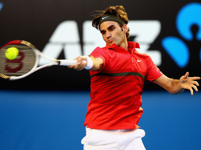 Australian Open: Day Five - Federer set to meet Tomic in fourth round