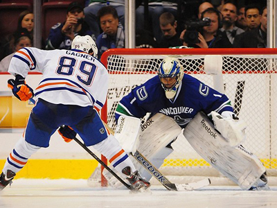 Canucks, Oilers nor Luongo have any interest in having him land in Edmonton
