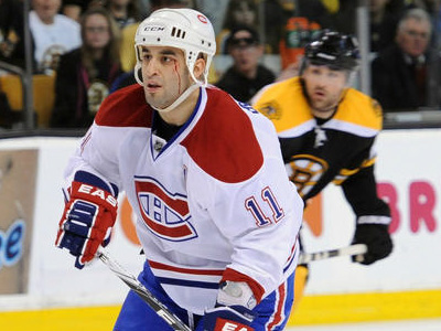 Canadiens' Gomez to ride the proverbial Pine