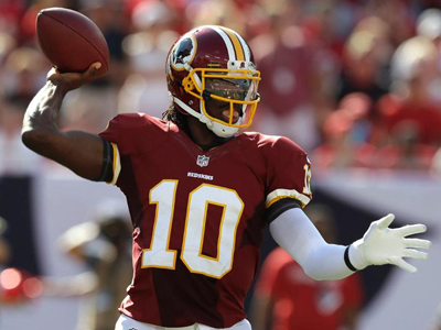 Pigskin Picks - Griffin and Redskins will surprise Falcons in high scoring affair