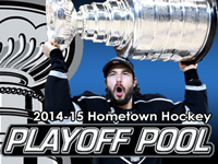 Hometown Hockey NHL Playoff Pool - register today!
