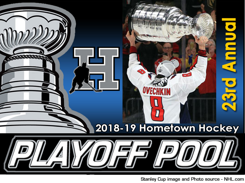 2018-19 Hometown Hockey NHL Playoff Pool - register today