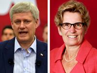 Harper's greatest electoral weapon, Kathleen Wynne