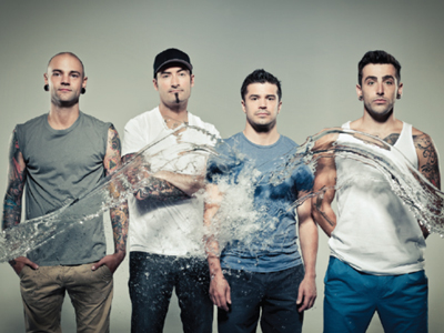 "Canadian chart toppers Hedley are back with a brand new single, ""Kiss You Inside Out"""