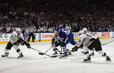 Crosby and the Penguins shut down the Leafs