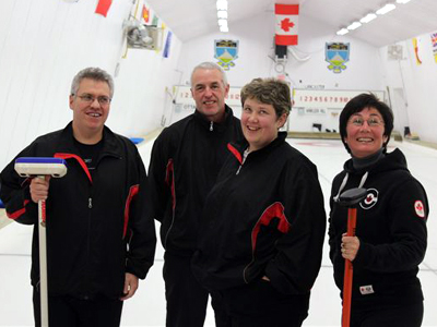 A busy week at the Lancaster Curling Club