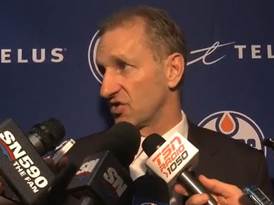 Oilers get it right and promote Krueger to head coach