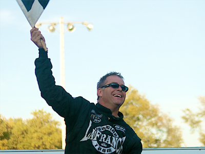 Lafrance feature winner and Canadian Nationals champ at Cornwall Motor Speedway