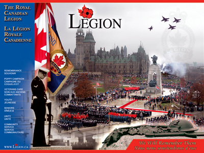 Legion will be able to sell poppies at Carrefour Angrignon