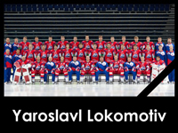Hockey world remembers Lokomotiv, one year after crash