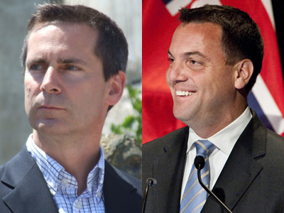 Recent poll shows a virtual tie between McGuinty and Hudak
