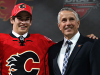 Calgary Flames select 67's Captain Sean Monahan