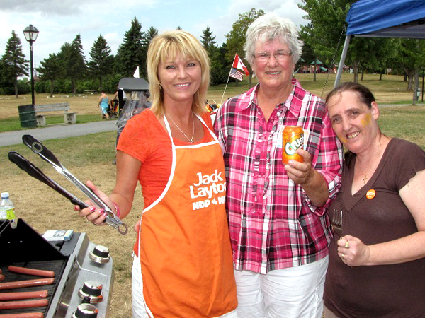SNAPSHOT - Over 100 people attend NDP BBQ