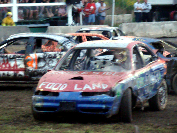 SNAPSHOT - Demolition Derby kicks off the 144th Stormont County Fair