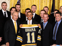Timeout - Should the Boston Bruins have forced Tim Thomas to visit the White House?