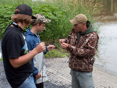 Break out a line at South Nation Conservation fishing camp