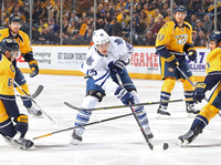So close and yet so far: Leafs drop 10th straight, falling 4-3 to the Preds