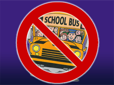 School Buses cancelled in Cornwall and Area