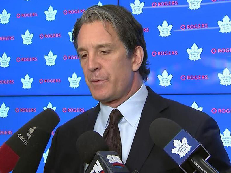 Shanahan signs six-year contract to remain Maple Leafs president
