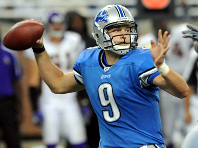 Pigskin Picks - Dallas native Matthew Stafford to lead Lions over Cowboys