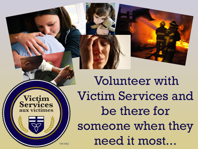 Victim Services volunteer crisis responders needed