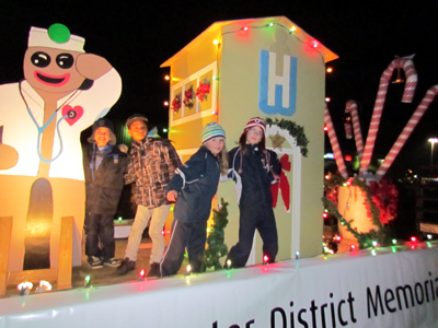 WDMH is on the Move – Participating in local Festive Parades