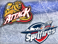 Spits down Attack in OT, sweep weekend