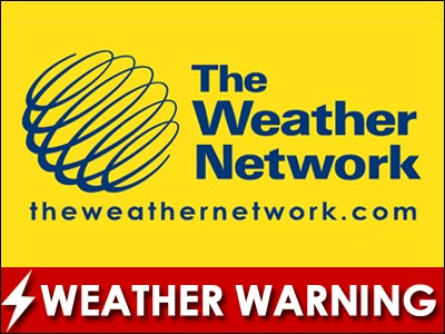 Severe Thunderstorm watch issued for Cornwall